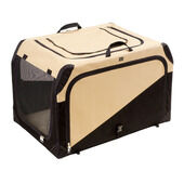 Hunter Pet Transport Box Tan/black
