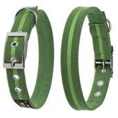 Oscar & Hooch Dog Collar Apple Green