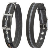 Oscar & Hooch Dog Collar Graphite Grey