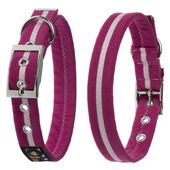 Oscar & Hooch Dog Collar Hot Pink