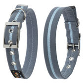 Oscar & Hooch Dog Collar Ocean Breeze Blue