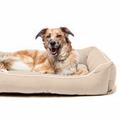 Dog Gone Smart Cream Lounger Dog Bed