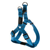 Rogz Nitelife Reflective Nylon Step-in Harness Turquoise 11mm