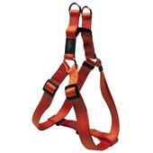 Rogz Lumberjack Reflective Nylon Step-in Harness Orange 25mm