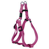 Rogz Lumberjack Reflective Nylon Step-in Harness Pink 25mm