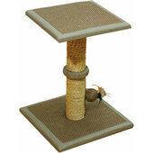 Rosewood Catwalk Toronto Cat Scratcher Post & Platform 45x35x35cm
