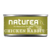 32 x Naturea Grain Free Cat Chicken With Rabbit 80g