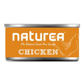 32 x Naturea Grain Free Cat Chicken 80g