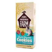 8 x Supreme Cookies Charlie Chinchilla With Raisin & Carrot 120g