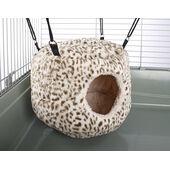 Little Friends Huge Rodent-hive Rat Ferret Toy Cheetah Print