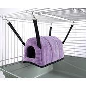 Little Friends Cuddle Up Rat Chinchilla Igloo Purple Velvet