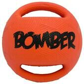 Zeus Orange Bomber Ball Dog Toy
