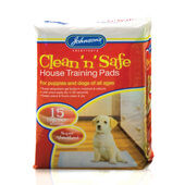 Johnson\'s Clean \'n\' Safe House Training Pads