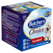 6 x Butcher's Choice Senior Multipack 4x150g