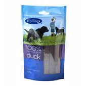 12 x Hollings Real Meat Treat Duck 100g