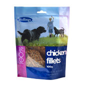 8 x Hollings Chicken Fillets 100g