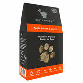 10 x Billy & Margot Apple Banana & Carrot Nutritious Training Biscuits 125g