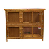Everyday Two Storey Hutch 131x65x102cm