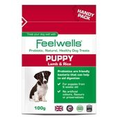 12 x Feelwells Probiotic Puppy Treats Handy Pack 100g