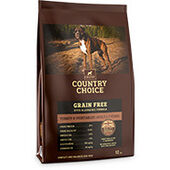 Gelert Country Choice Grain Free Turkey & Veg Adult Dry Dog Food