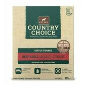 10 x Gelert Country Choice Tray Beef 395g