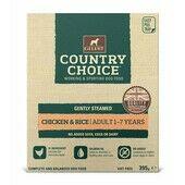10 x Gelert Country Choice Tray Chicken 395g