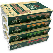 12 x 395g Gelert Country Choice Meat & Rice Wet Dog Food Variety Pack