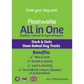 10 x Feelwells Benefits All In One Healthy Dog Treats 130g