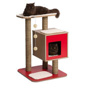Vesper V-base Red Cat Post Furniture