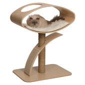 Vesper V-high Lounge Poplar Cat Post Furniture