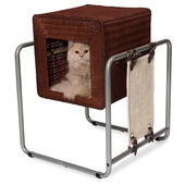 Vesper V-cube Ratten Cat Furniture