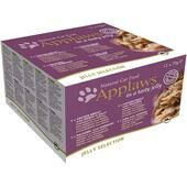 48 x Applaws Cat Tin Jelly Selection Multi Pack 70g