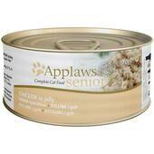 24 x Applaws Cat Tin Senior Chicken 70g