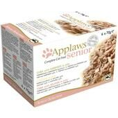 24 x Applaws Complete Senior Cat Food Selection Pack 70g