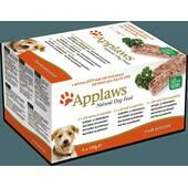 4 x Applaws Dog Pate Alu Tray Fresh Selection Multipack 5x150g
