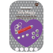 3 x Jolly Moggy Festive 5 In 1 Laser Cat Toy 7cm (3
