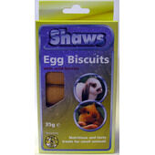 6 x Shaws Small Animal Egg Biscuits Wild Berries 35g