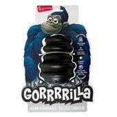 Yours Droolly Gorrrrilla Classic Black Dog Toy