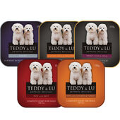 12 x Teddy & Lu Complete Mixed Tray 150g