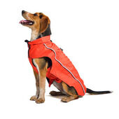 Dog Gone Smart Nano Breaker Waterproof Dog Raincoat - Red