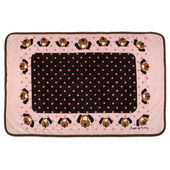 Snuggle Puppy Fleece Blanket Pink 122 X 81cm