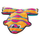 Outward Hound Invincibles Frog Orange/pink 4 Squeaker