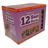 12 x 300g Suet To Go Block Insect