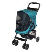 PetGear No Zip Pet Stroller Emerald 30.48x60.96x55.88cm