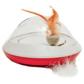 Rosewood Jolly Moggy Feather Chase Toy 24x24x14cm