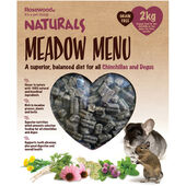 Rosewood Naturals Meadow Menu Chinchilla/degu 2kg