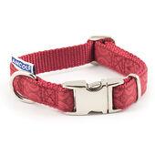 Ancol Indulgence Nylon Adjustable Collar Red 20-30cm Sz 1-2