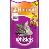 8 x Whiskas Anti-hairball Cat Treats 55g