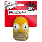 5 x The Simpsons Latex Bite Me! Play Ball Homer