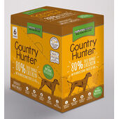 18 x Natures Menu Country Hunter Dog Adult Pouch Chicken 150g